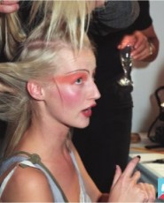 Backstage: 1990's London Fashion Week | Love, Line, Joshua and Jane