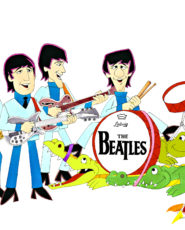 BEATLES CARTOON POP ART SHOW