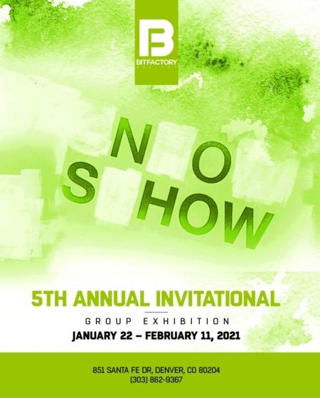 Video Tour: Denver's 5th Annual No Show Exhibit featuring EP artist Van Tat